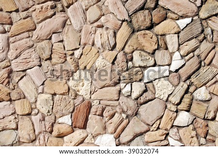 Abstract Rock Wall