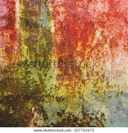 abstract rusty colored background