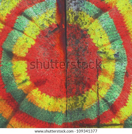 abstract rusty colored vintage photo retro style rasta hat hippie background