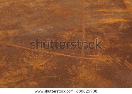 Abstract rusty metal texture, rusty metal background for design with copy space for text, image. Unprotected from wet atmospheric influences of rusty metal. Rusty metal texture background #680825908