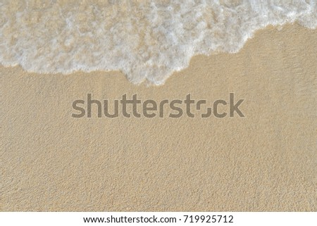 abstract sand of beach and soft wave background #719925712