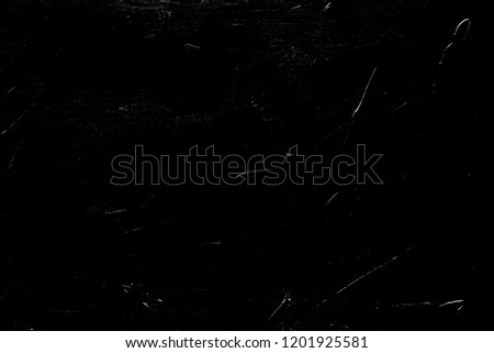 abstract scratches on black background. distressed rough layer for photo editing. #1201925581