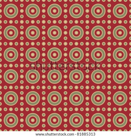 abstract seamless background with rounds. raster version