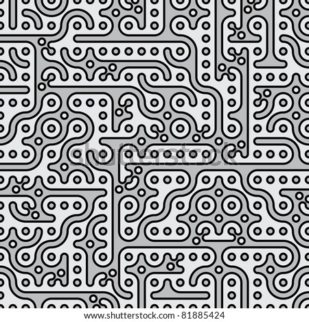 abstract seamless indian background. raster version