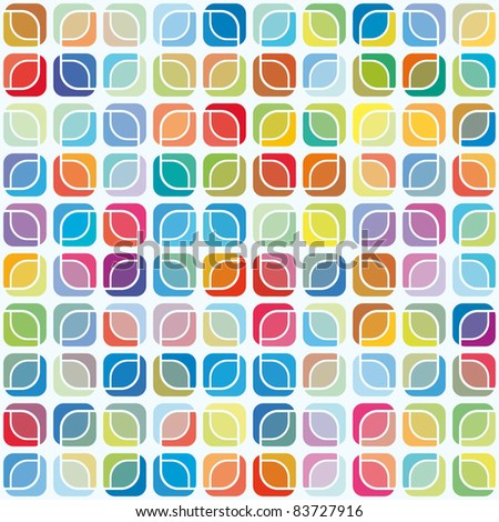 abstract seamless pattern, mosaic background
