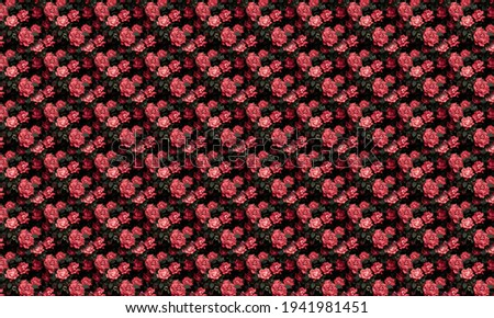 Abstract Seamless Sunflower Pattern. Seamless pattern can be used for wallpaper, pattern fills, web page background, surface textures.