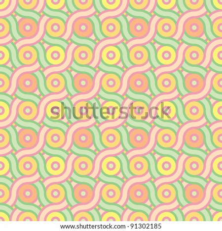abstract seamless tissue background in crayon shades vector illustration