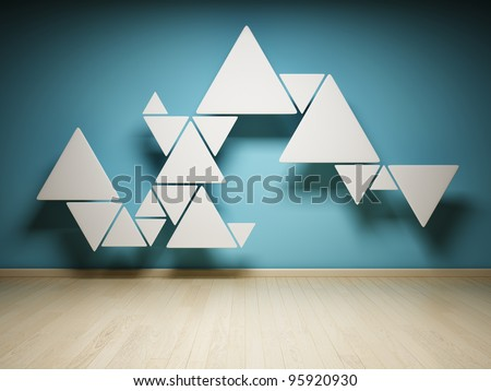 Abstract shape of triangles in interior