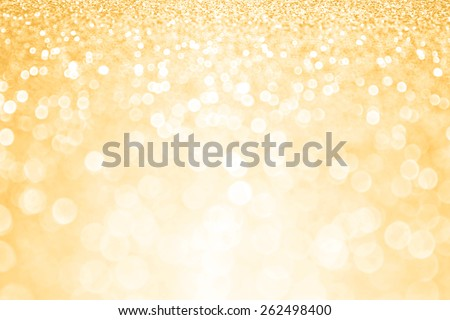 Abstract shiny gold sparkle glitter background