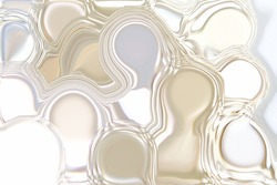 Abstract shiny Mosaic Silver Mother Pearl Background