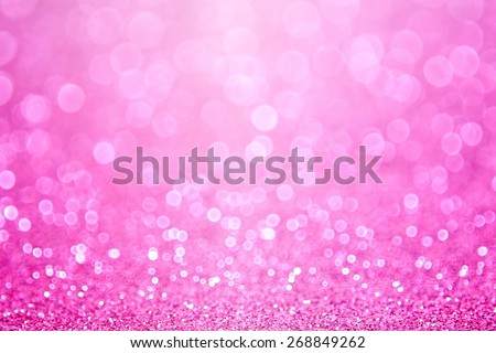 Abstract shiny pink glitter sparkle confetti party background