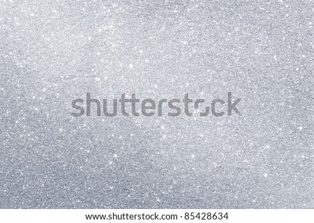 Abstract silver background with copy space - stock photo