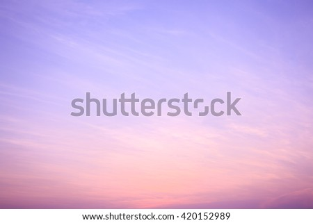 Abstract sky sunset sky background #420152989
