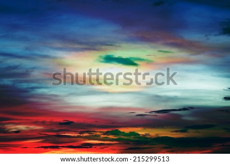 Abstract sky texture and clouds background  #215299513
