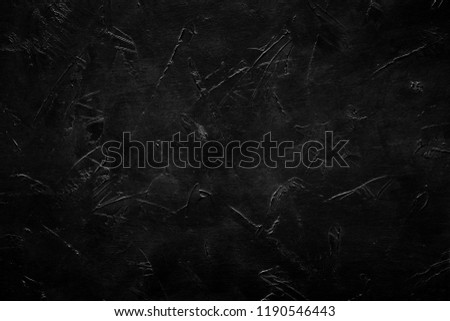 abstract smears and scratches on black background. distressed layer for photo editing. #1190546443