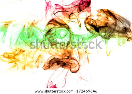 Abstract smoke background.