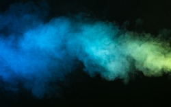 Abstract smoke on a dark background