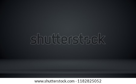 Abstract Smooth Dark blue with Black vignette Studio well use as background,business report,digital,website template,backdrop.