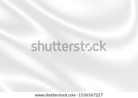 abstract smooth elegant white fabric silk texture soft background,flowing satin waves