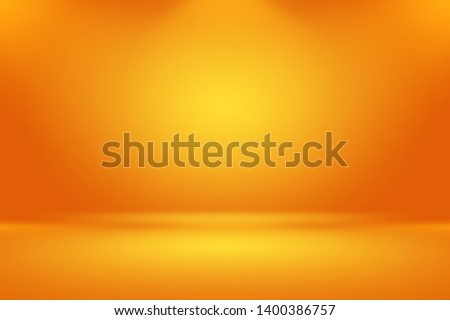 Abstract smooth Orange background layout design,studio,room, web template ,Business report with smooth circle gradient color