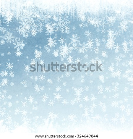 Abstract snowflake background for Your design #324649844