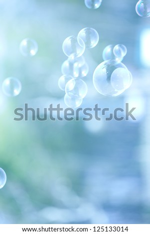 Abstract soap bubble background,element for designers