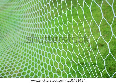 abstract soccer goal net pattern