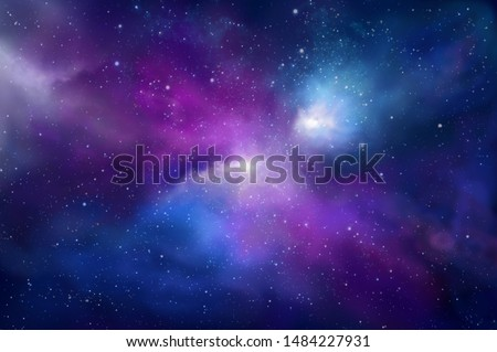 abstract space background. cosmos and stars