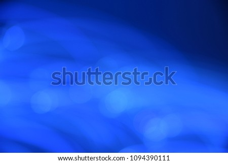 Abstract, space bleu background with connecting dots and lines.