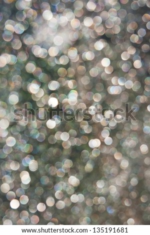 Abstract sparkling background or a lot of small sparkles