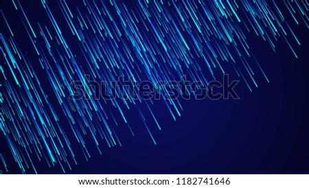 Abstract speed background. Starburst dynamic lines pattern. Abstract data flow background. 3D rendering. #1182741646