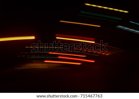 abstract speed motion in urban...