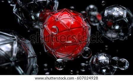 Abstract spheres #607024928