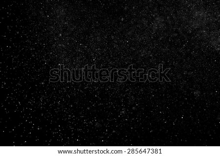 abstract splashes of water on a black background #285647381