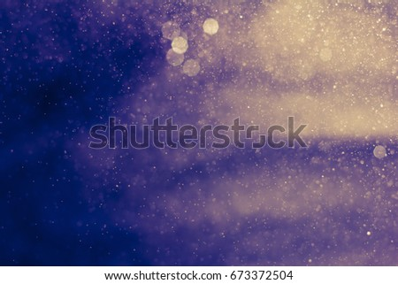 Abstract spray water reflection. - Shutterstock ID 673372504