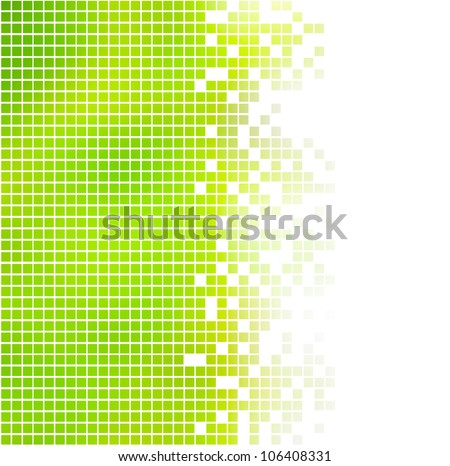 abstract squares background on white - stock photo