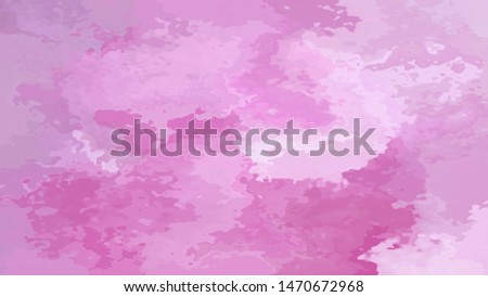 abstract stained pattern texture rectangle background cute pink violet purple lilac color - modern painting art - watercolor splotch effect