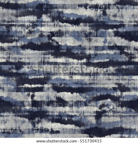 Abstract stains and stripes distressed background. Seamless pattern.