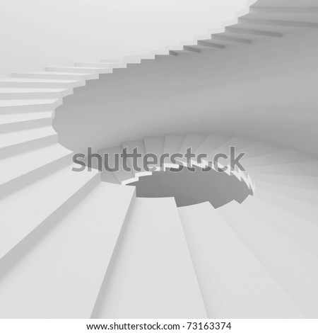 Abstract Staircase Background