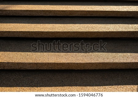 Abstract stairs in brown, granite stairs, stone stairs commonly seen in, wide stone stairs