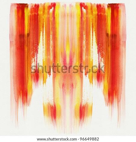 Abstract stripe watercolor ,high resolution image