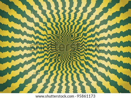 Abstract Striped Background - Bitmap Illustration