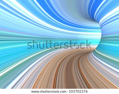 Abstract striped 3d the image for a background
