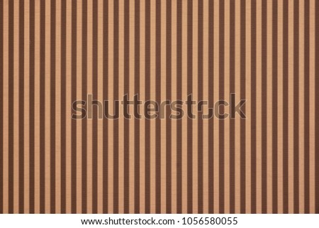 Abstract Striped Paper Texture. Vintage Background With Vertical Brown Stripes. Modern Color Wallpaper With Striped Retro Pattern. Colorful Geometric Classic Backdrop. #1056580055
