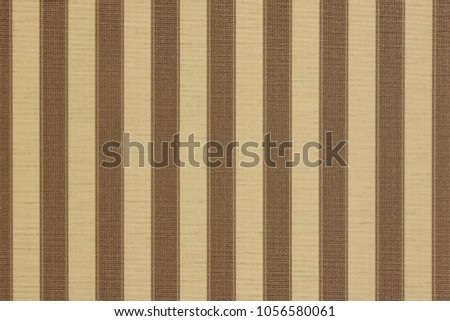 Abstract Striped Paper Texture. Vintage Background With Vertical Brown Stripes. Modern Color Wallpaper With Striped Retro Pattern. Colorful Geometric Classic Backdrop. #1056580061