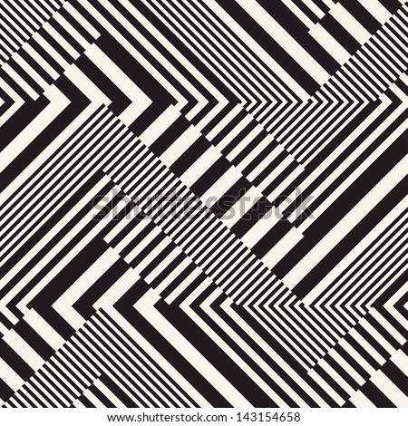 Abstract striped textured geometric seamless pattern.