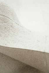 Abstract stripes and curve sculpture of granite stone .Oriental style in monochrome for background.