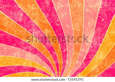 Abstract stripes illustration