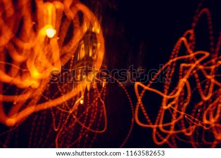 Abstract stripes orange stripes wallpaper #1163582653