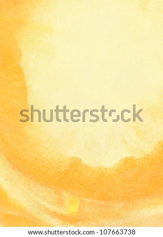 Abstract summer watercolor background